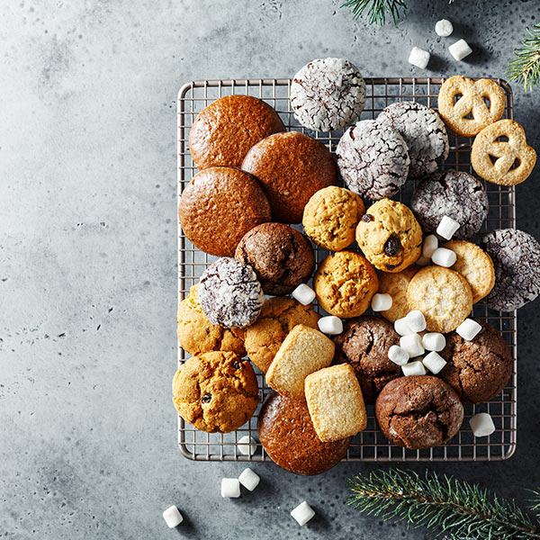 Biscuiți, fursecuri, turte dulci